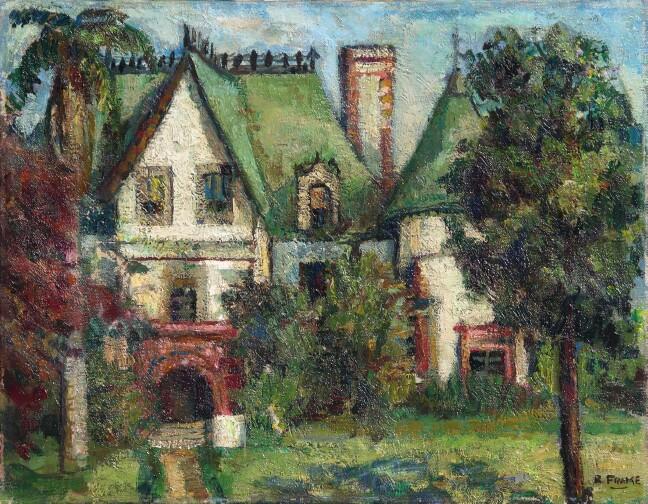 Victorian House Fada Fine Art Dealers Association The