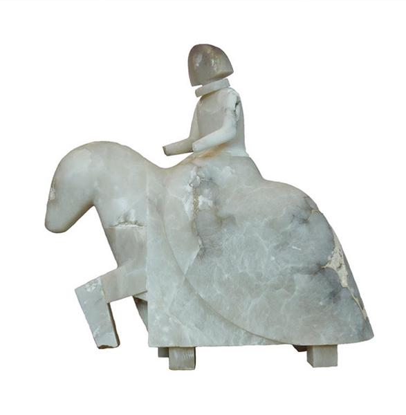 manolo_valdes_dama_a_caballo