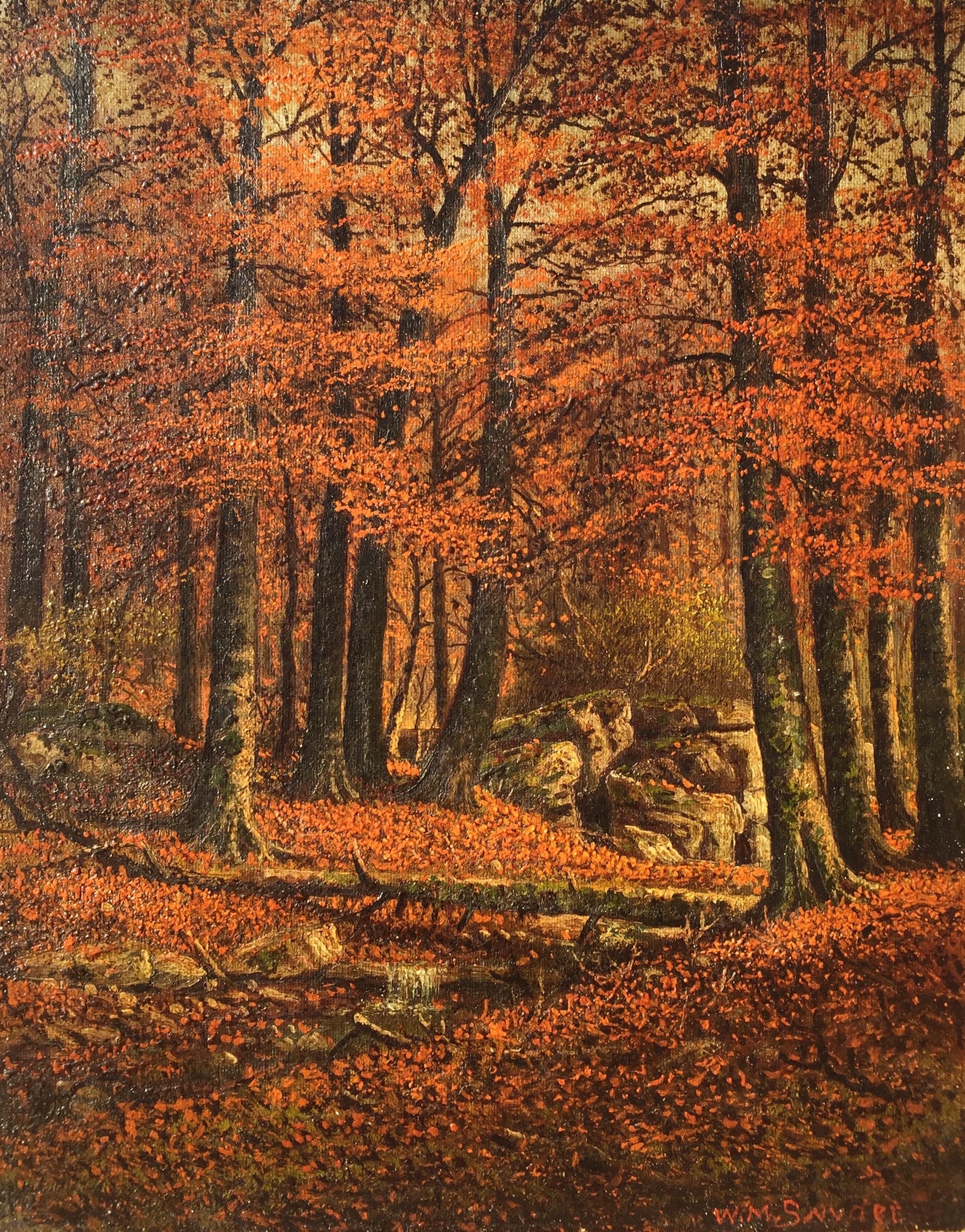 snyder-thestreamintheautumnwoods