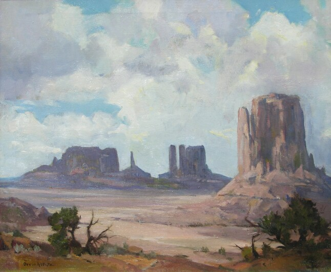 white monument valley