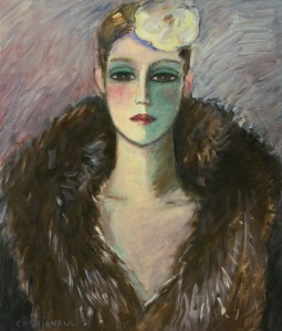 CASSIGNEUL-FLAPPER IN FUR-FULL