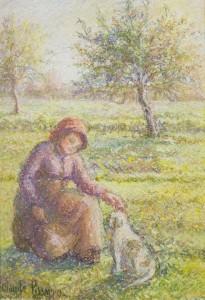 FULL-PISARRO-WOMAN-DOG