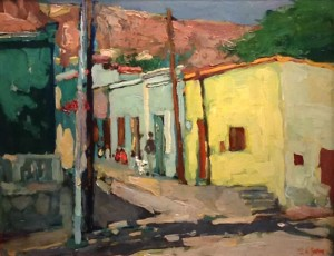 Yuan_Afternoon - Street Scene in Mexico 9333