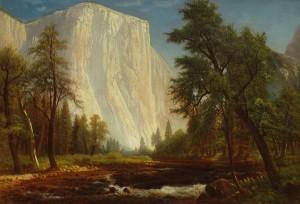 Munger - El Capitan - Yosemite 21.5x31 7509 Frameless Large