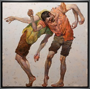 SARAZHIN-Dancing Men 2-uf-43x43-f-45x45