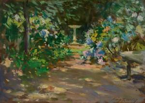 Wiles-Pathway in the Garden