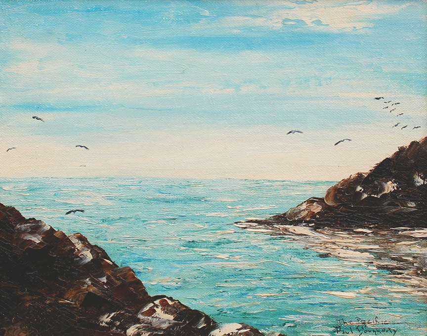 Dougherty - The Pacific 8x10 7971 Frameless Large