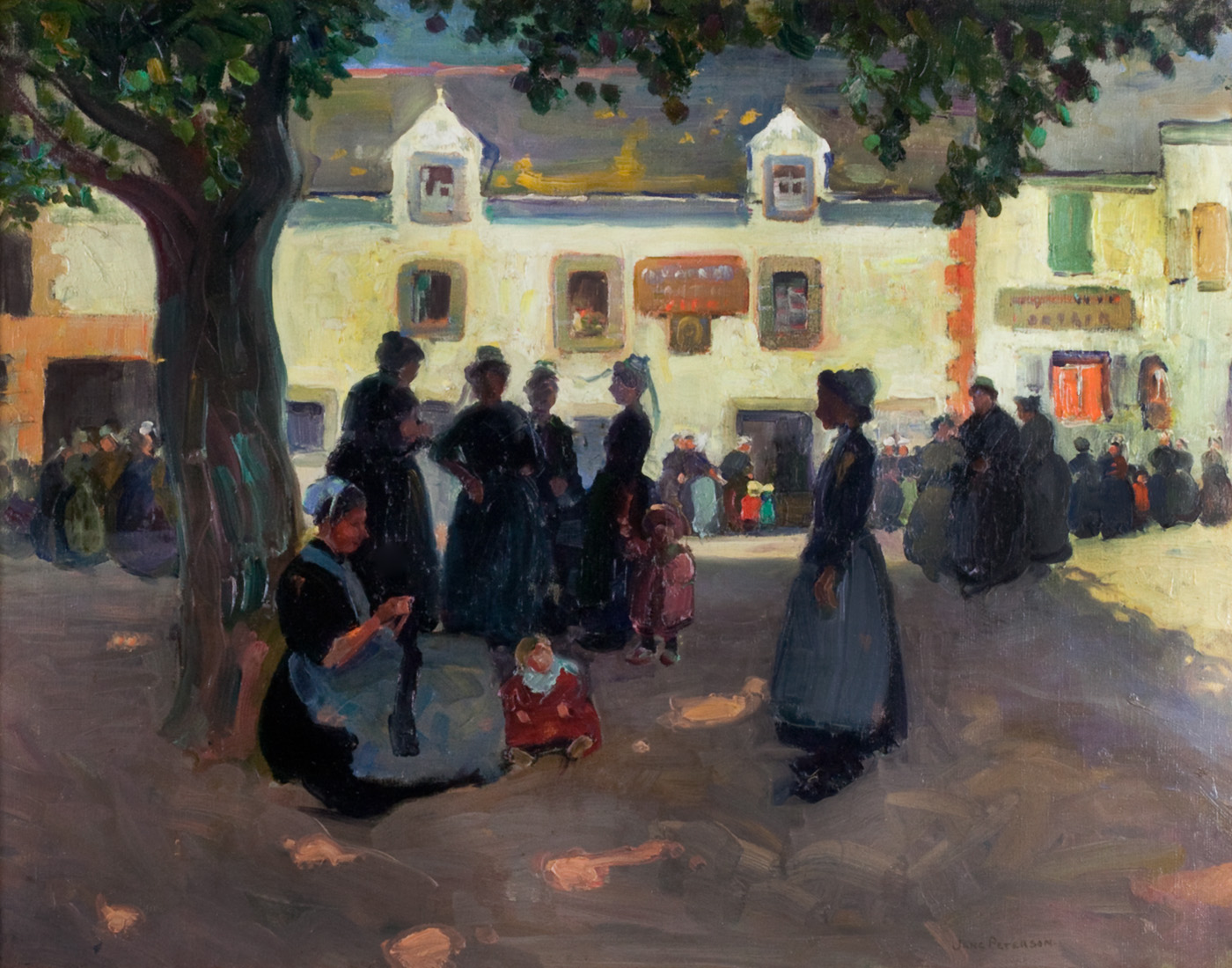 Peterson-Village Square, Brittany-inhouse