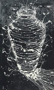 Untitled acrylic on canvas painting by artist Fernando Canovas