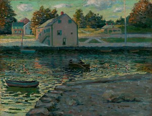 Lawson-Boating on the Connecticut River