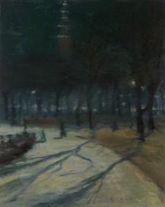 Lawson-Evening, Madison Square Park