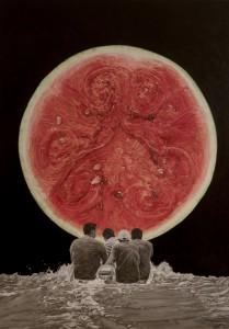 Path to the Stars Series (2) Rio de estrellas, 2017, oleo sobre lienzo, 160 x 120 cm_low