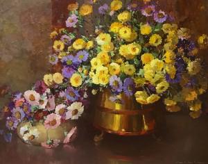 Warner NW - Floral 26x30 7975 Frameless Large