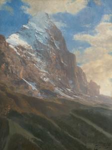 Bierstadt-A Snow-Covered Peak