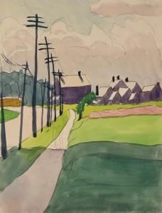 Burchfield-Street Scene