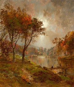Cropsey-On the Ramapo River