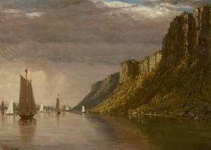 Gifford-The Palisades, New York, 1854
