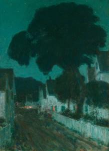 Hassam-Nocturne, Provincetown, 1900