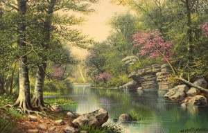 Snyder-The River in Spring-cropped