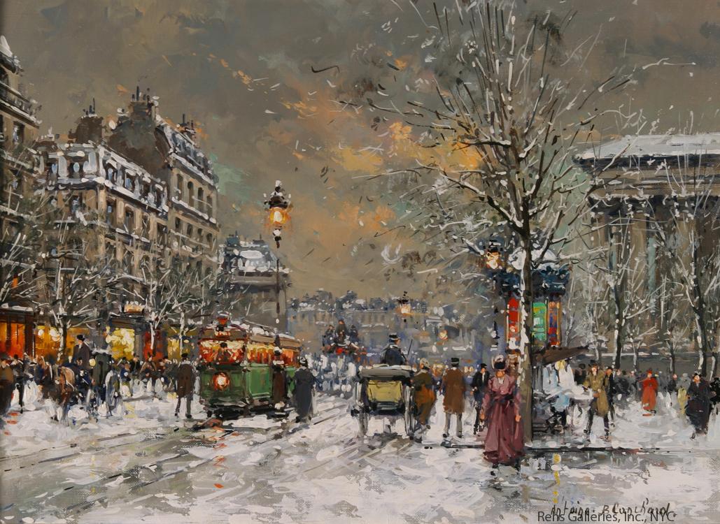 alt Boulevard des Capucines (Place de la Madeleine)