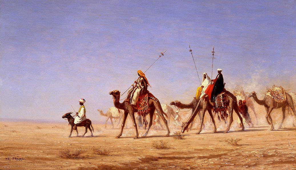 alt A Caravan Crossing the Desert