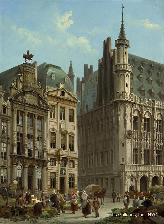alt Grand Place, Brussels