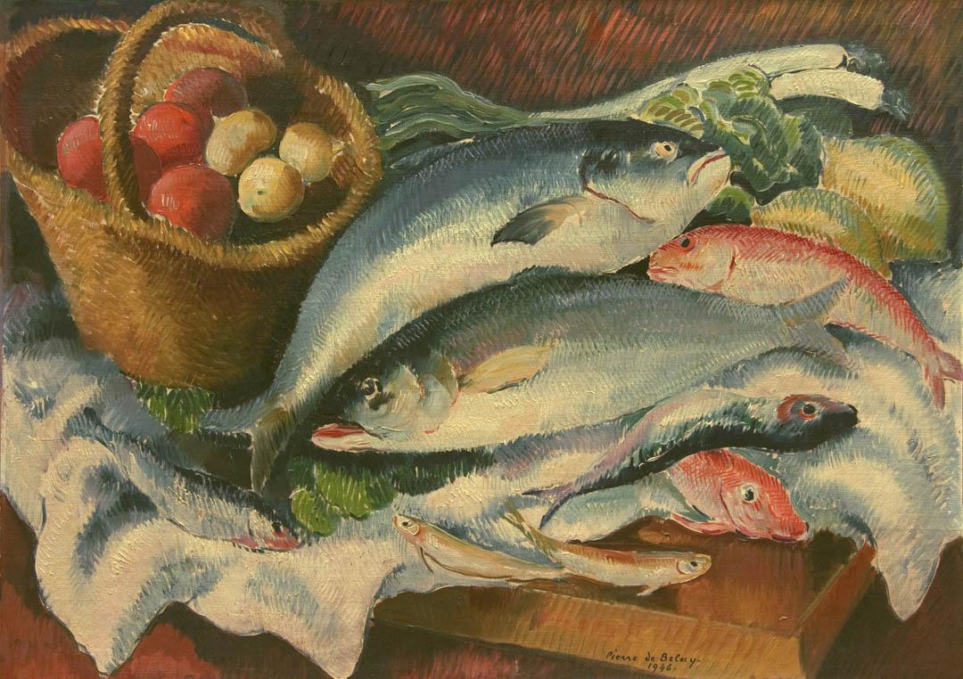 alt Nature morte aux poissons (Still life with Fish)