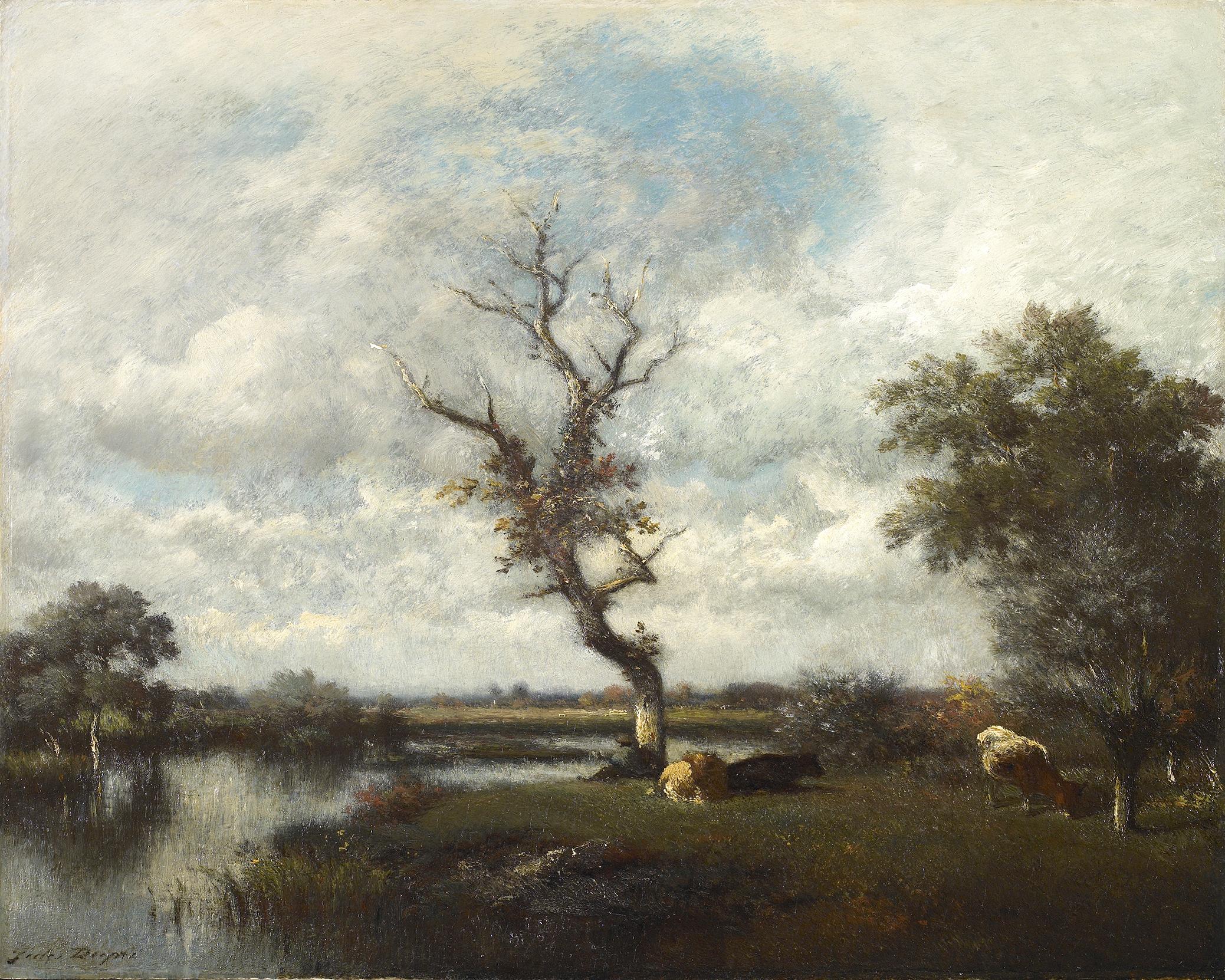 River, pastures near the Oise (Une Rivière – Pâturages près de l'Oise)