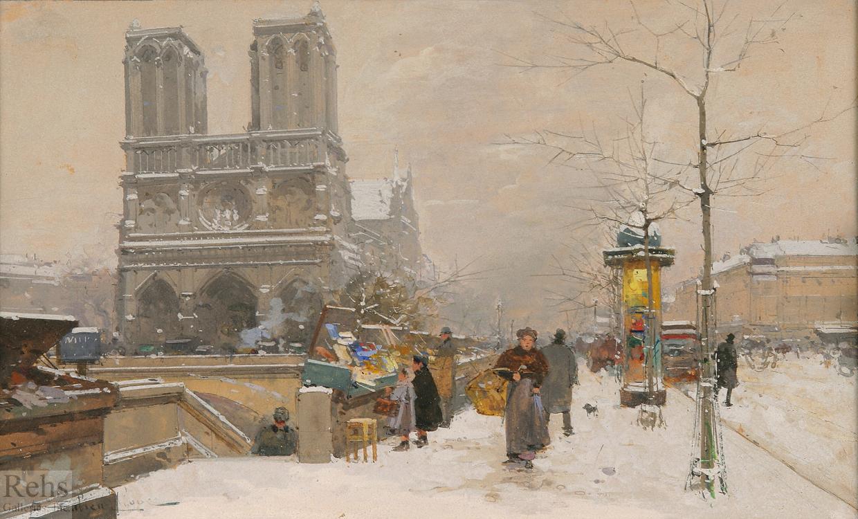 alt Notre Dame, Winter