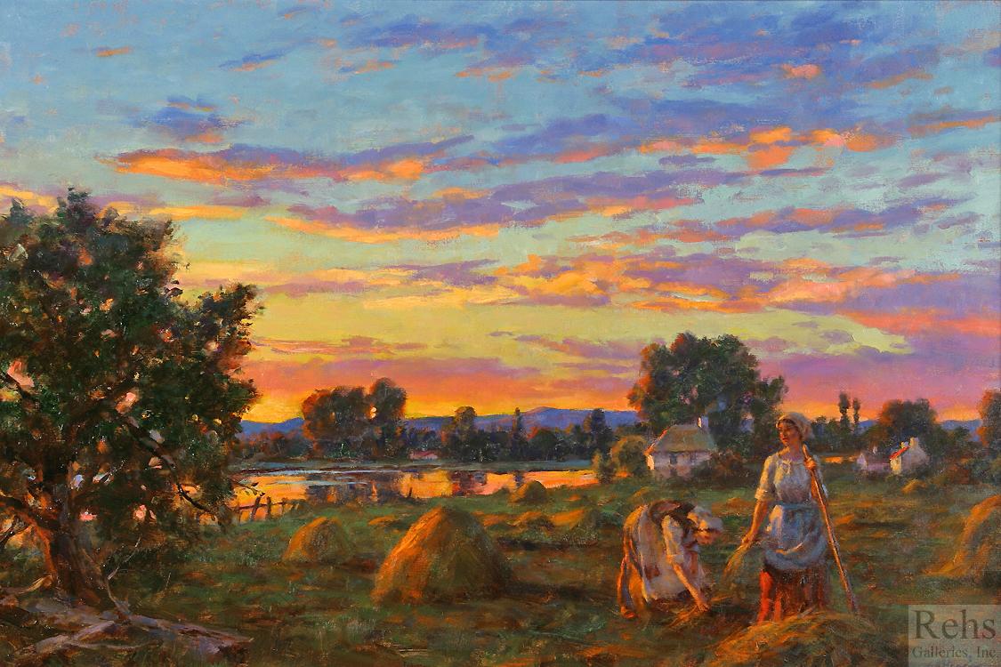 alt Sunset Along the River