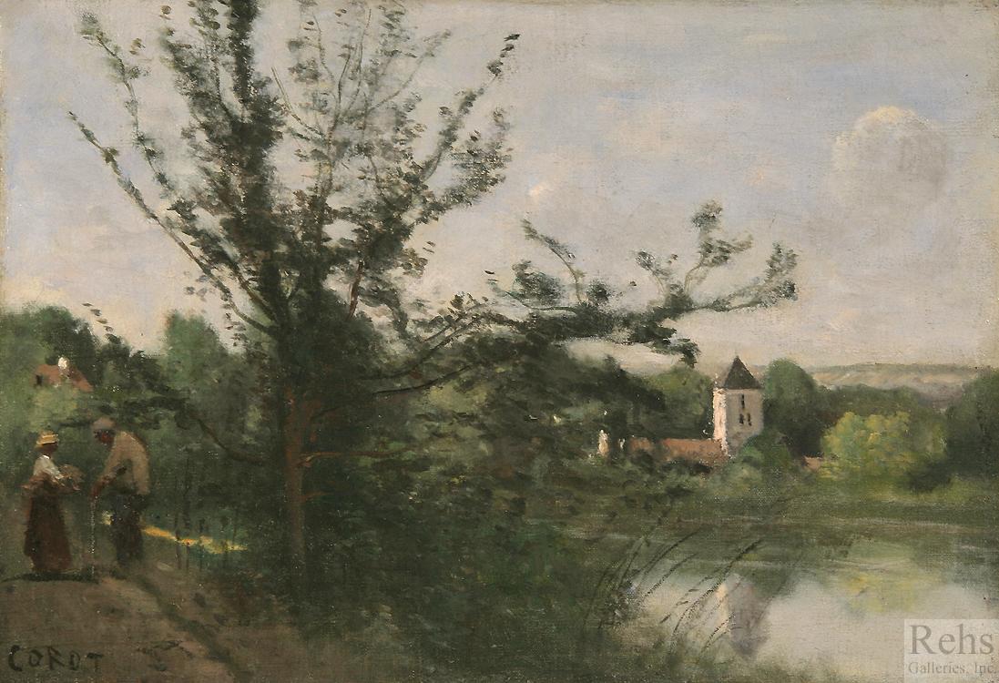 alt Environs de Mantes, Recontre au bord de la Seine