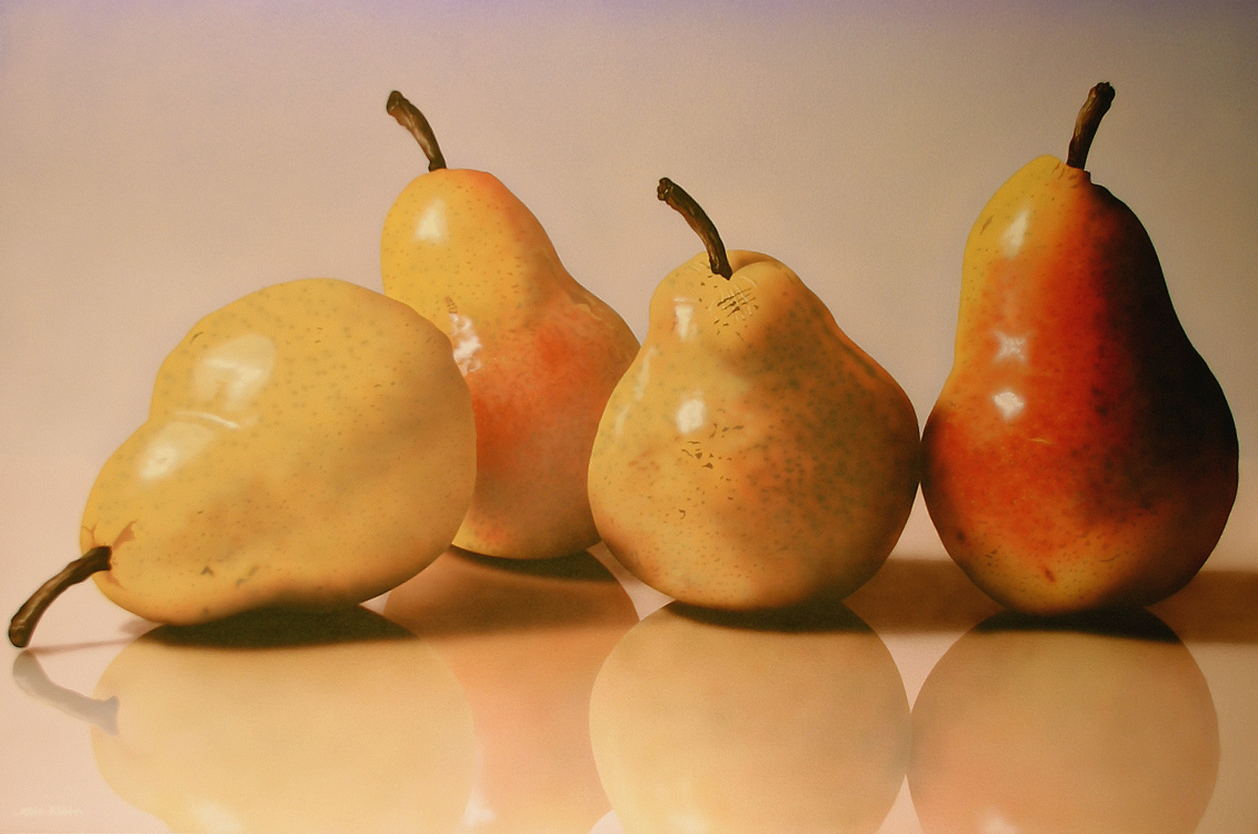 alt Four Yellow Pears
