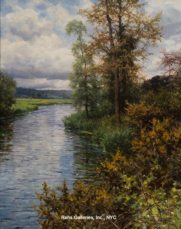 alt A River Landscape – Fall
