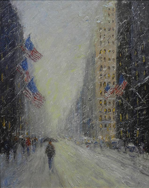 alt Flags & Snow (New York City, USA)