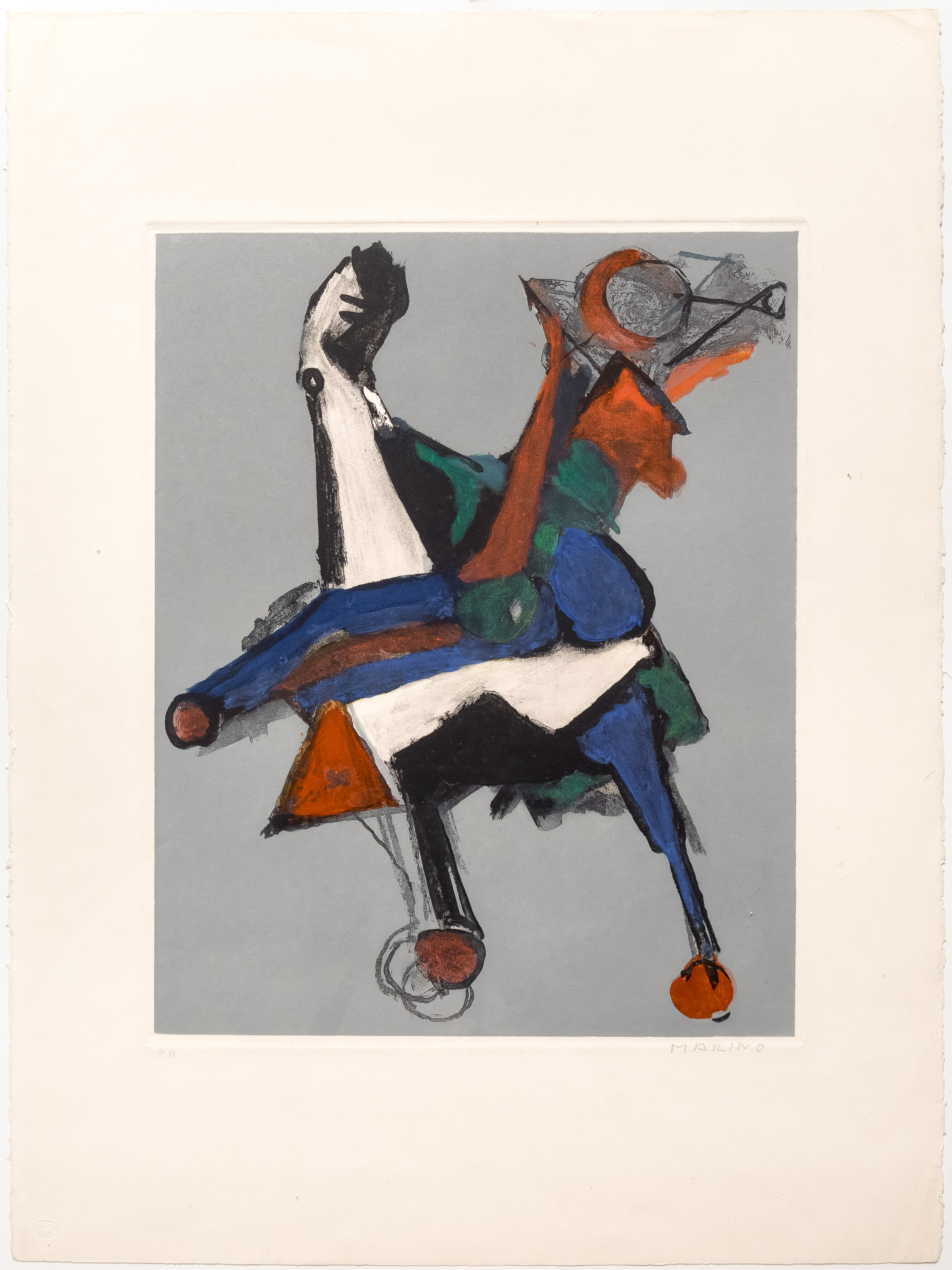 alt Marino, from Shakespeare I, Plate II, 1977