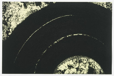 Paths and Edges #13 etching by Richard Serra