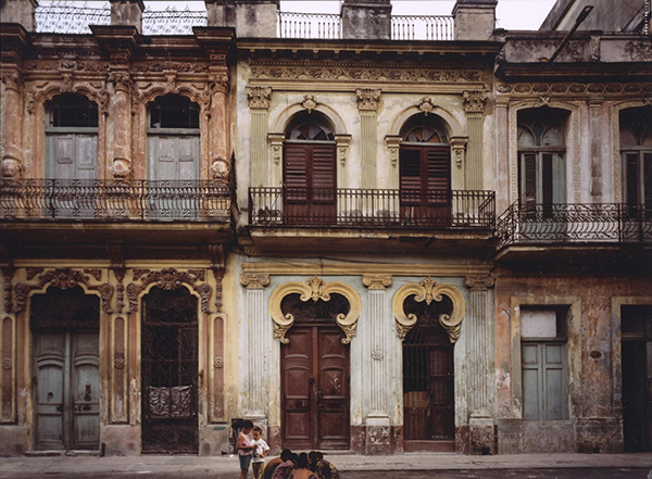 Avenida San Lazaro #1, Havana, Cuba Fujicolor crystal archive print mounted to dibond by fine art photographer Robert Polidori