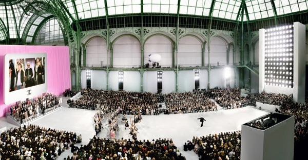 Chanel, Karl at the Grand Palais C-print by fine art photographer Simon Procter