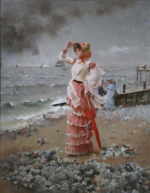 AU HAVRE,1884