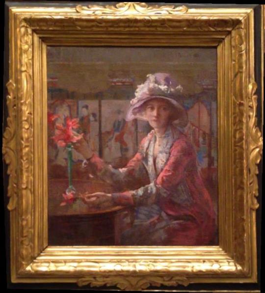 alt Mary Arranging Flowers, 1932