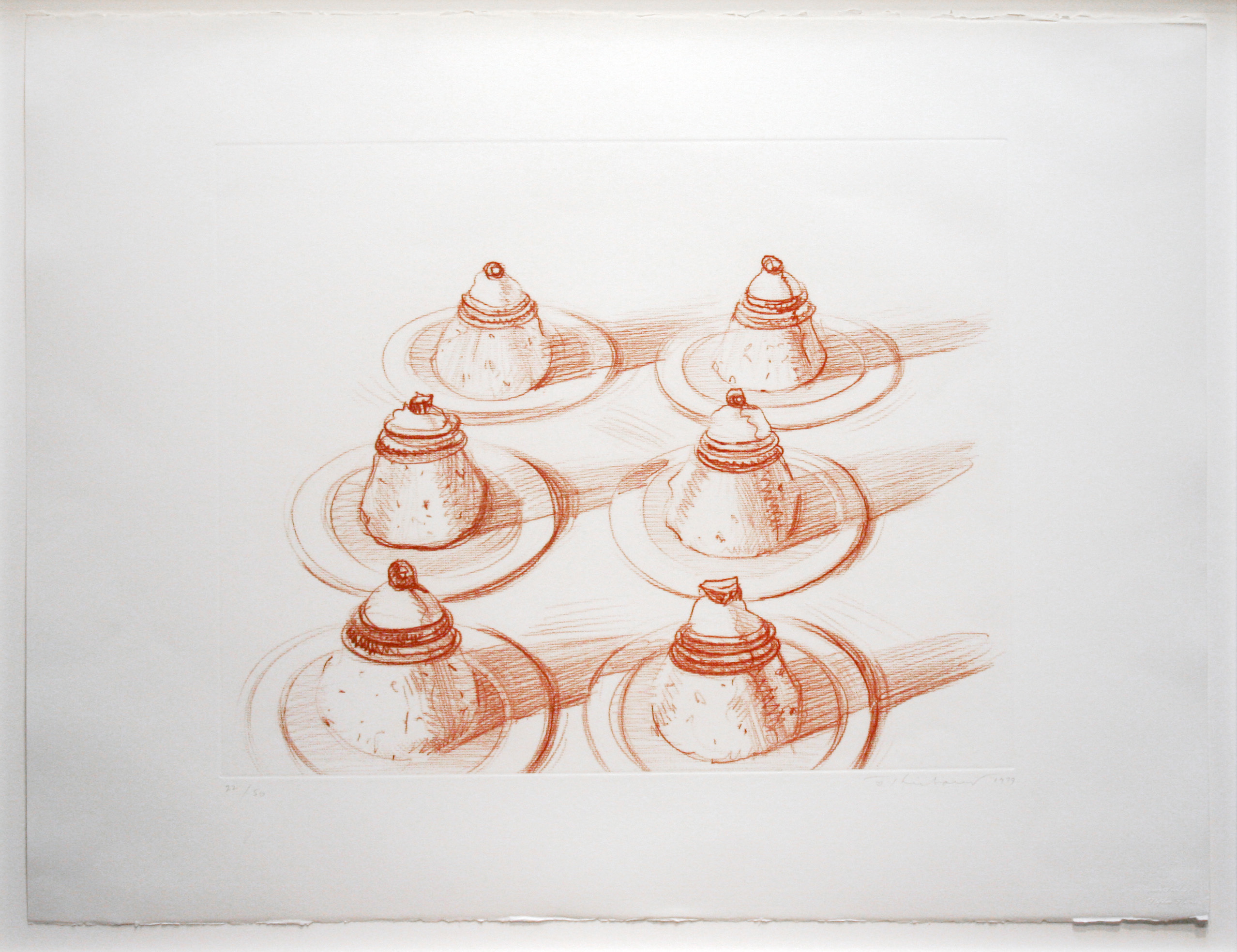 alt Six Desserts, from Recent Etchings II, 1973