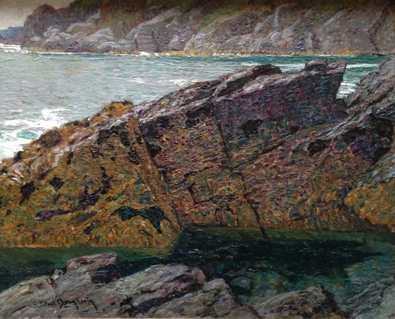 """Seal Cove"" – Cornwall, England, c. 1912"