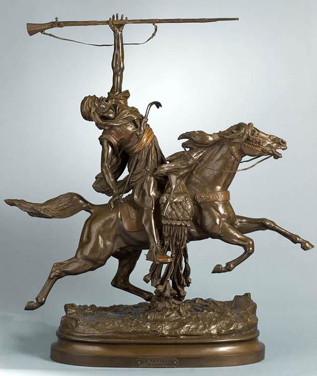 La Fantasia arabe (Arab Warrior on Horseback)