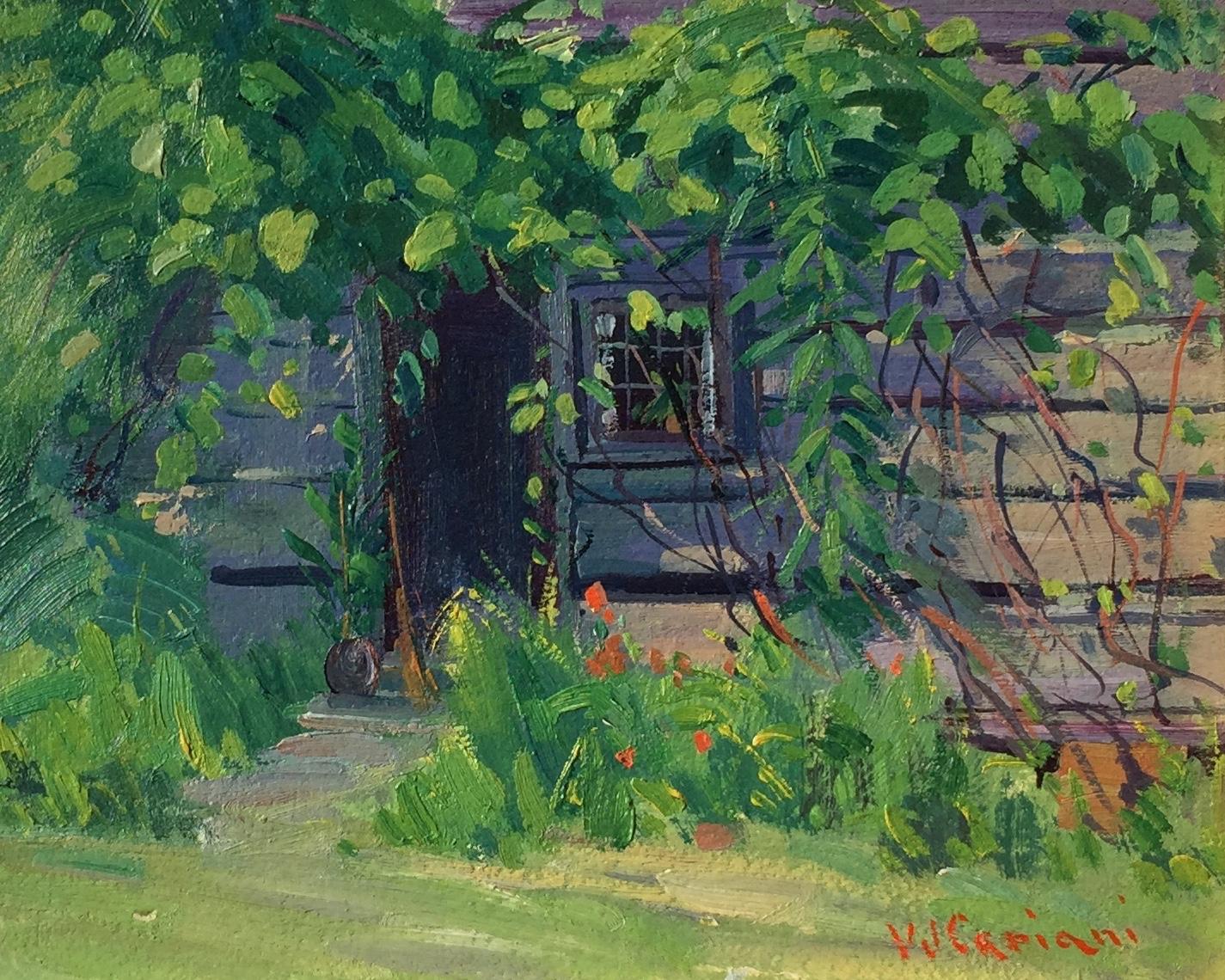 The Old Cabin Door