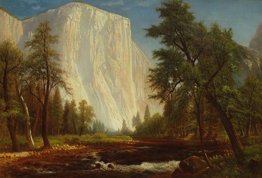 El Capitan, Yosemite, 1876