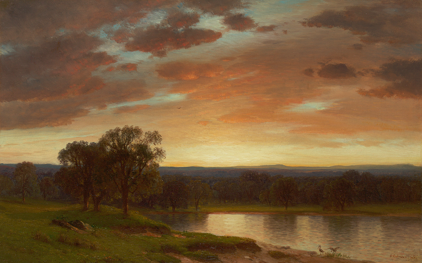 Twilight, Valley of the Genesee, 1865