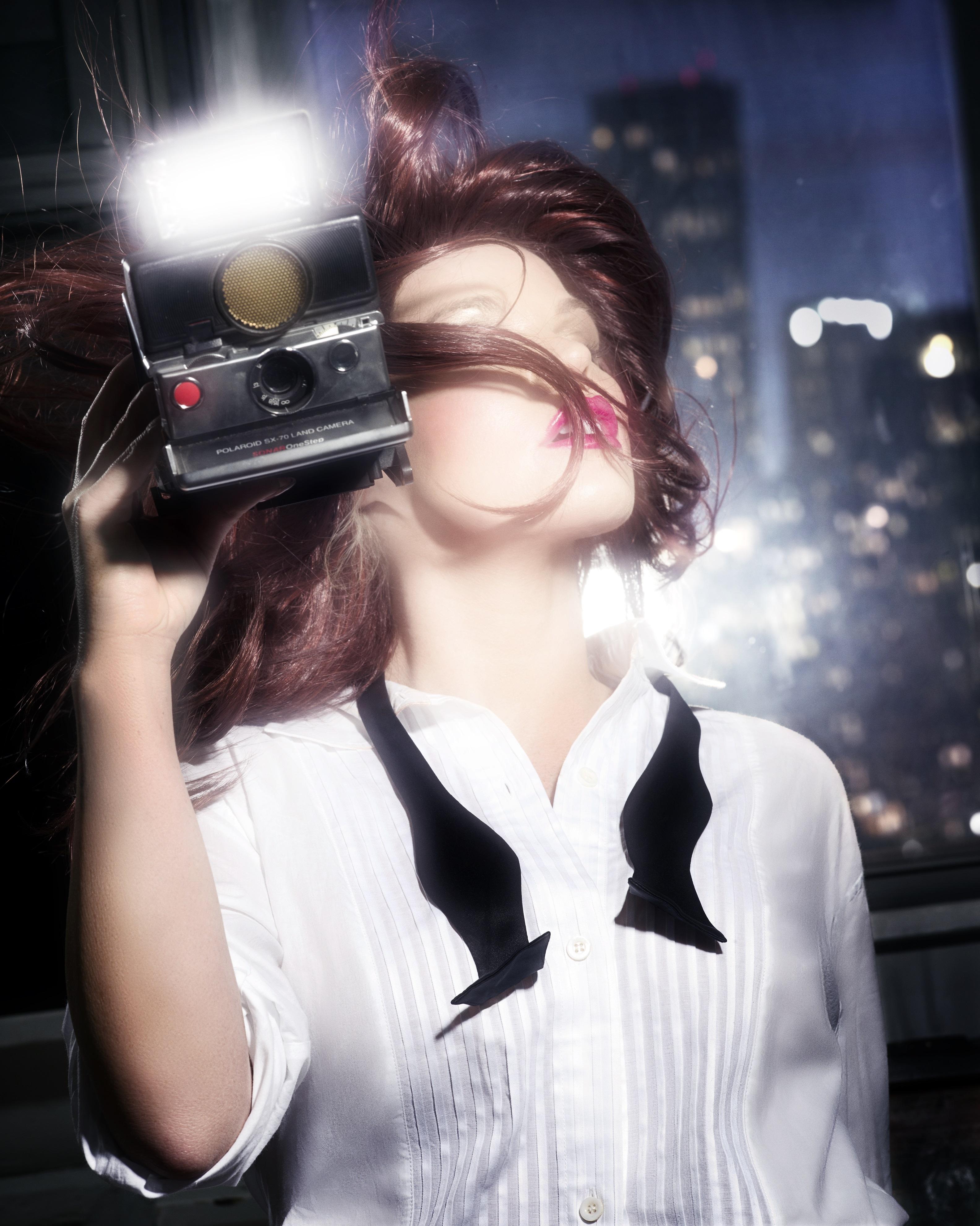 Flashing Girl