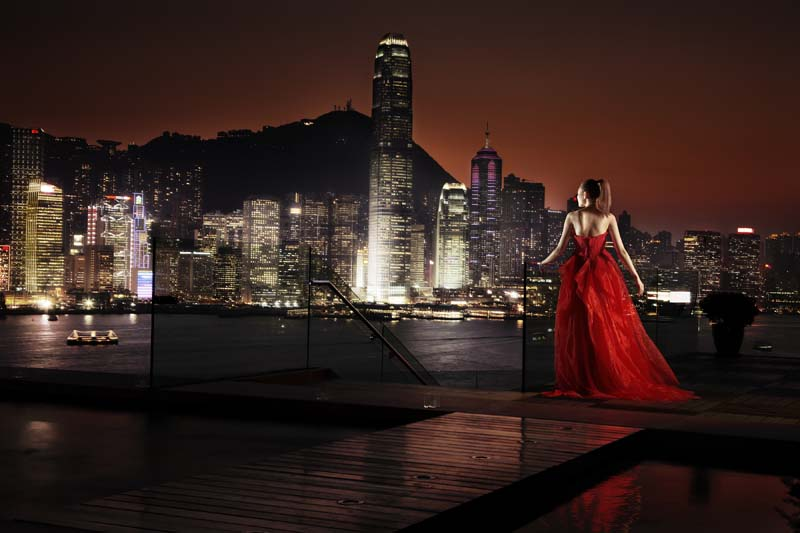 Girl in Hong Kong