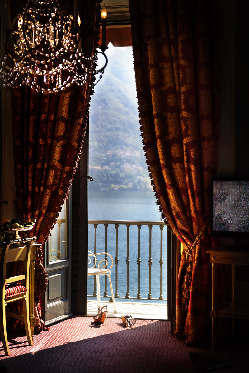 Heels in Lake Como