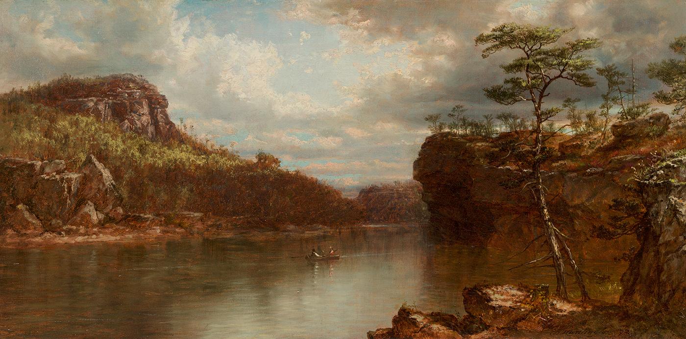 Lake Mohonk, 1872